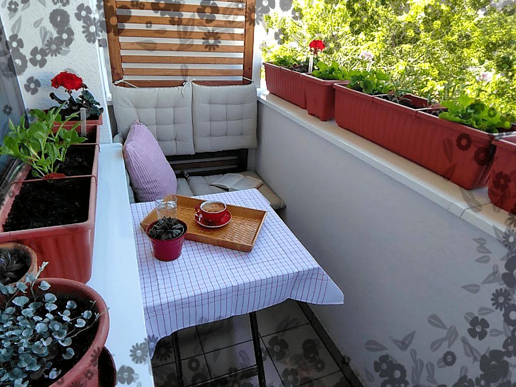 Nádherný balkón aja